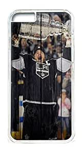 iPhone 6 Plus Case Cover - Crystal Clear Transparent Plastic Bumper Case for iPhone 6 Plus 5.5inch With Cool Logo Design Photo Stanley Cup La Kings