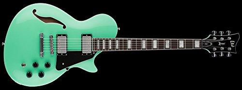 (ESP LTD X-Tone PS-1 Semi-Hollowbody Electric Guitar (Sea Foam Green))