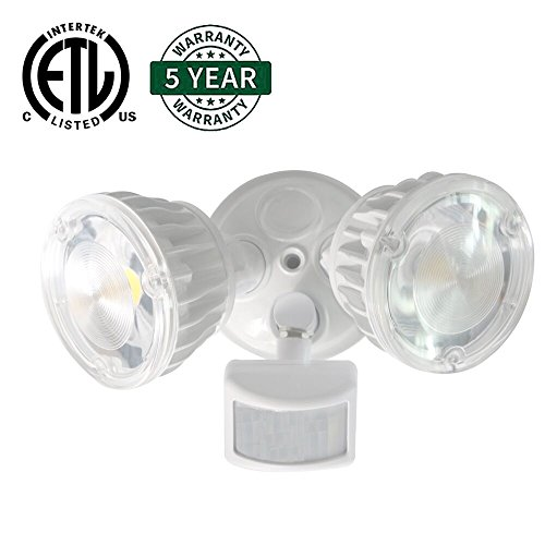 Activated Floodlight Equivalent Waterproof Adjustable