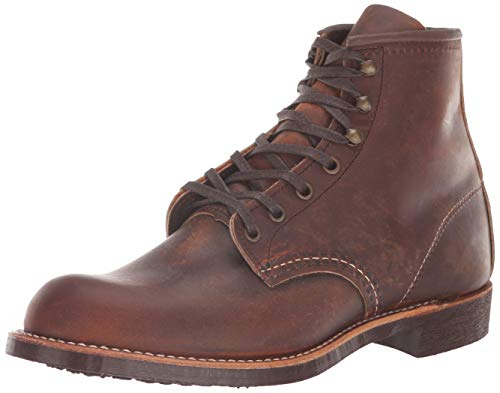 Red Wing Heritage Men's Blacksmith Work Boot, Copper Rough and Tough, 11.5 D US