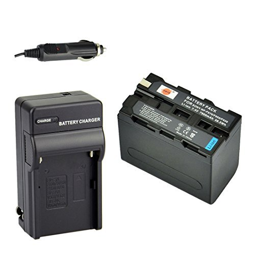 NP F970 MVC CD1000 DCR VX2100E DSR PD190P NEX FS700RH