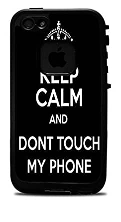 Amazon.com: Keep Calm and Don't Touch My Phone Vinyl Decal