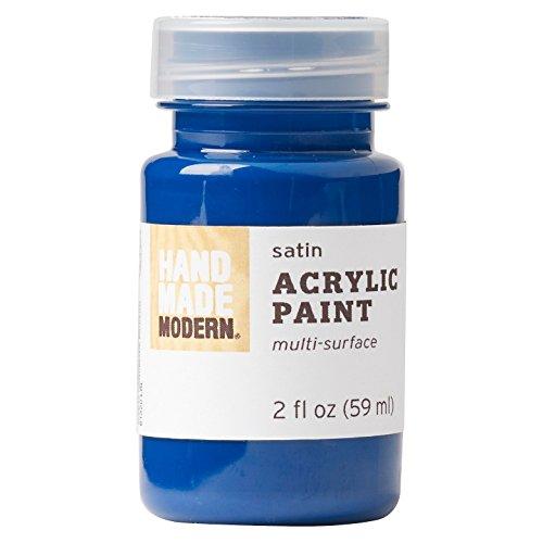 Hand Made Modern - 2oz Satin Acrylic Paint- Modern Blue