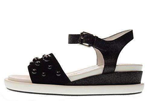 Sandales Noires Altraofficina Q1302x Chaussures Noir