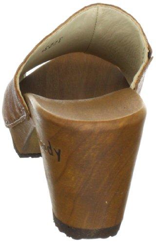Woody Elly, Zoccoli da donna Marrone (Braun (Delux Cuoio))