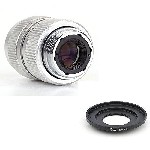 Pixco 25 mm f1 . 4 CCTVレンズCマウントカメラ用+ Cマウント16 mmアダプタfor Pentax Q Q - s1 q10 q7 Qカメラ。。。 C Lens-M4/3  B078TCLSPT