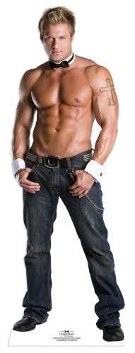 UPC 816451012437, Billy Cuff-n-Collar Chippendale Cardboard Cutout Poster Life Size Standup