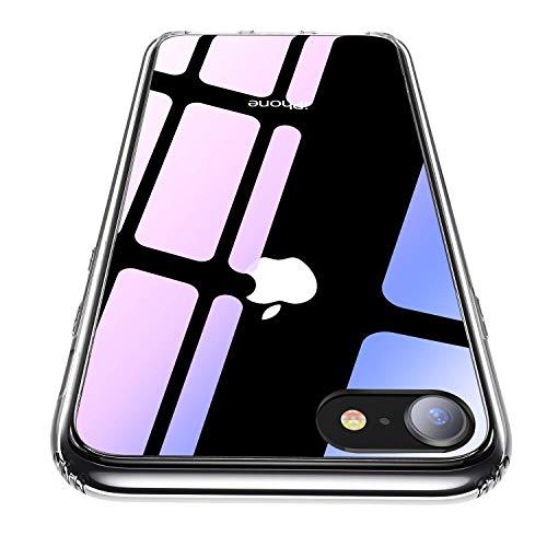 祖父母を訪問切り下げキャリア【CASEKOO】iphone8 ケース iphone7ケース 強化ガラスケース クリア 薄型 硬度9H 耐衝撃カバー アイフォン7/8ケース 透明 ハードケース qi対応 ストラップホールあり[Ice Series]