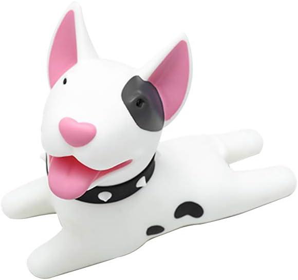 Huinsh Door Stopper Cute Dog Door Stopper, Door Stop Silicone Door Stops,Cute Style Door Wedge for Home and Office White Bull Terrier Dori: Home Improvement
