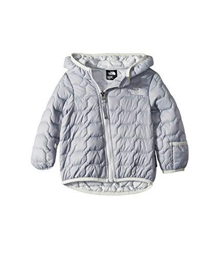 The North Face Kids Unisex Thermoball Hoodie (Infant) Mid Grey 6-12 Months (Down Reversible Coat One Kid)