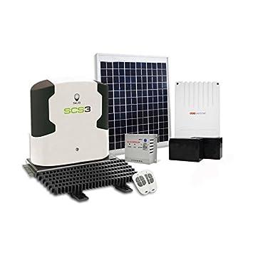 SCS SENTINEL Motorisation avec kit d alimentation solaire SCS3 pour portail  coulissant 5mx500Kg maxi acc3637b418c