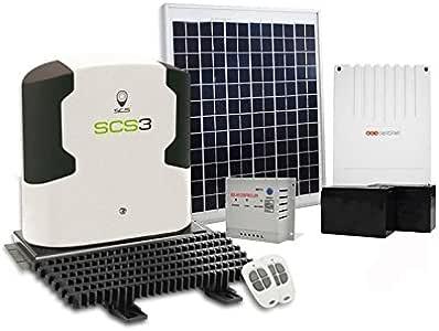 SCS Sentinel - Motorización con kit de alimentación solar SCS3 ...