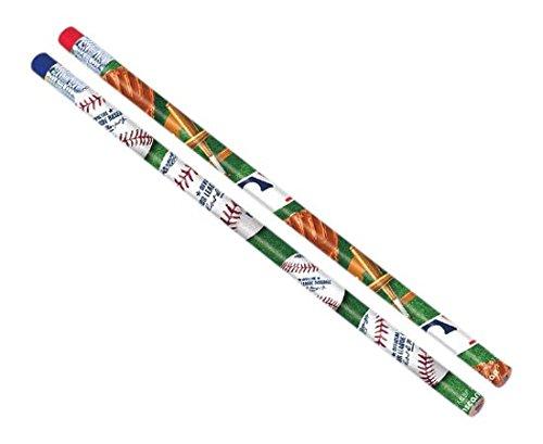 Amscan Baseball Dream Rawlings Pencil Favor (12 pieces), Multi color, 7 3/8