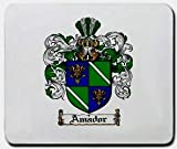 Amador Family Shield / Coat of Arms Mouse Pad