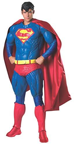 Batgirl Latex Costume (Rubie's Men's Collector's Edition Adult Superman Costume, Multicolor, One)