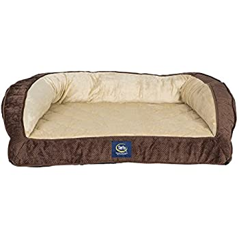 Amazon.com : Dog Bed and Couch Extra-large Tan Baxter