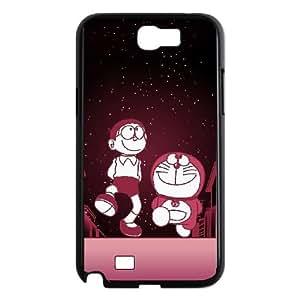 Doraemon Samsung Galaxy N2 7100 Cell Phone Case Black TPU Phone Case SV_116961