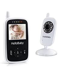 Hello Baby Wireless Video Baby Monitor with Digital Camera HB24, Night Vision Temperature Monitoring & 2 Way Talkback System, White BOBEBE Online Baby Store From New York to Miami and Los Angeles
