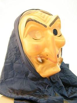 Adultos máscara de bruja con una bufanda