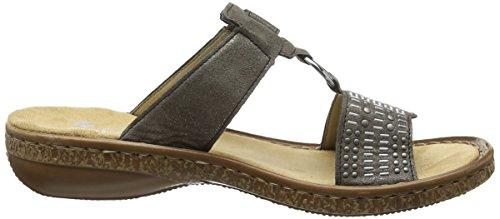 Rieker Womens, 62854 Slide Sandal Stromboli