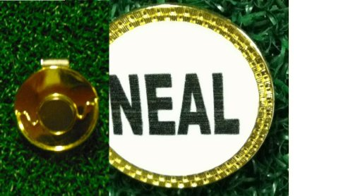 (Gatormade Personalized Golf Ball Marker & Hat Clip Neal)