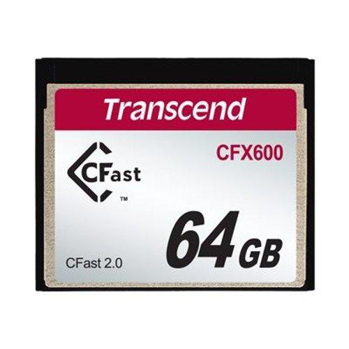 2 opinioni per Transcend 64GB CFX600 CFast 2.0 64GB SATA MLC memory card- memory cards