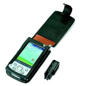 Fujitsu Leather clip case - Funda Negro
