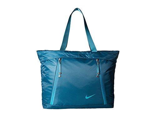 Price comparison product image Nike Auralux Tote Midnight Turquoise / Midnight Turquoise / Rio Teal Tote Handbags