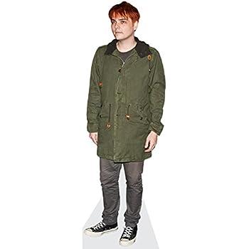 lifesize Gerard Way Cardboard Cutout Standee.