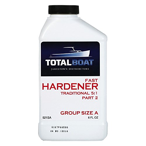 - TotalBoat 5:1 Epoxy Fast Hardener (6 Ounces (for Quart of resin))