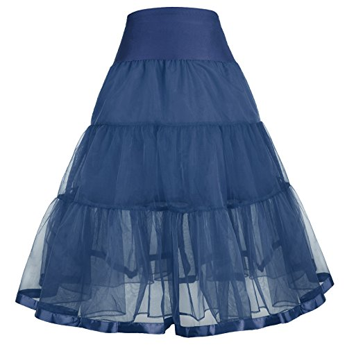 GRACE KARIN Girls Voile Layered Tutu Ruffle Skirt Dance 1-3 yrs 480-4 ()