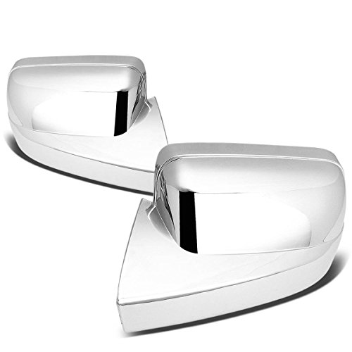 For Ford Mustang Pair of Exterior Side Door Mirror Covers (Chrome) ()