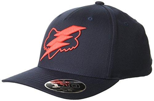 - Fox Men's 110 Curved Bill Snapback Hat, Midnight, OS