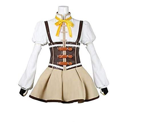 Yunbei Anime Tomoe Mami Cosplay Costume