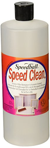 (Speedball Art Products SB4573 Squeeze Bottle Speed Clean, 32-Ounce )
