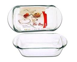 Anchor Hocking Glass 1.5 Quart Baking Dish, Set of 2