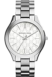 Michael Kors Watches Slim Runway Watch (Silver)