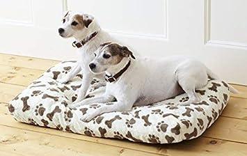 Hari Deals LUJOS DE Lujo Espuma viscoelástica Cojín Mascota Perro Animal Cama - Crema: Amazon.es: Productos para mascotas