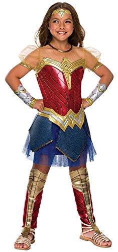 Rubie's Costume Co Justice League Child's Wonder Woman Premium Costume -