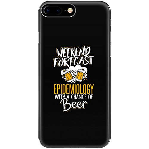 Gift For Epidemiology Beer Lovers Weekend Forecast Present - Phone Case Fits Iphone 6 6s 7 8