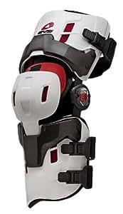 EVS Sports RS8 Pro Knee Brace (White, Small) - Pair