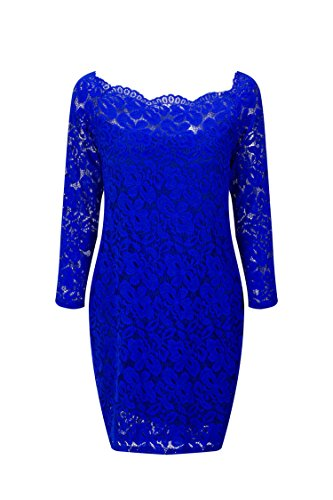 Quality Edition Europe and The United States Women's Long-Sleeved Lace Dress A Large Number of (Letter G Costume Ideas)