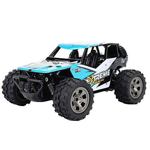 Remote Control Alloy Truck Moonite 1:20 2WD High Speed RC Racing Car Electric Toy Car Radio Controlled Off-Road RC Car Electronic Monster Truck for All Adults & Kids