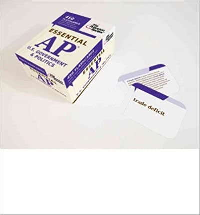 Descargas gratuitas de libros electrónicos en línea para kindleEssential AP U.S. Government & Politics (Flashcards) (College Test Preparation) (Cards) - Common PDF RTF DJVU