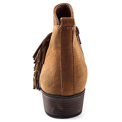 Amerikaanse Rag Dames Alix Gesloten Teen Enkel Mode Laarzen Bruin