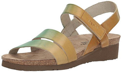 Kayla Mint - NAOT Women's Kayla - Hand Crafted, Mint Beige Leather, 37 M EU / 6-6.5 B (M) US