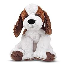 Melissa & Doug Bailey St. Bernard - Stuffed Animal Puppy Dog (10.5 inches tall)