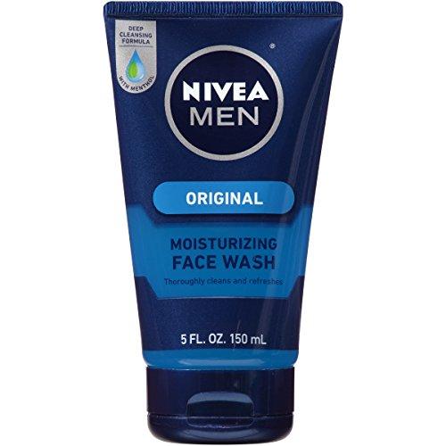NIVEA Men Original Moisturizing Face Wash 5 Fluid Ounce