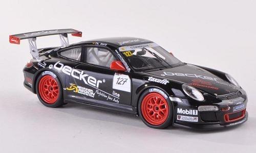 Porsche 911 (997) GT3 Cup, No.127, MS racing, Becker, Porsche Cup, Model Car, Ready-made, Schuco / Pro.R 1:43 (Porsche Cup Gt3)