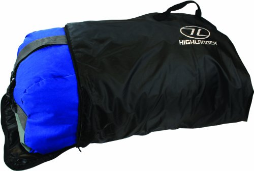 415kz6kzvyL - Highlander Waterproof Unisex Outdoor Travel Rucksack Transit Cover available in Black - One Size